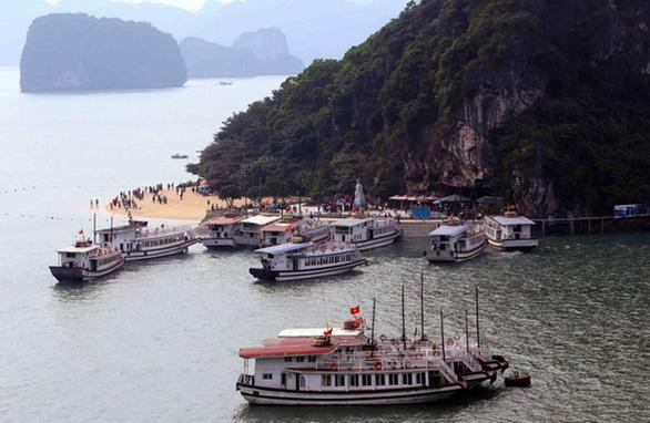 Quảng Ninh ngừng sử dụng sản phẩm nhựa dùng một lần trên vịnh Hạ Long - Ảnh 1.