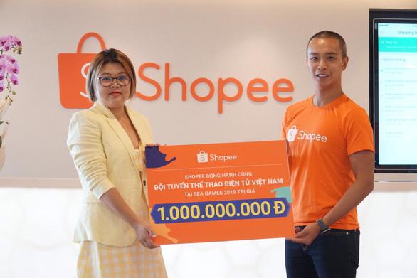 Shopee đồng hành cùng Đội tuyển Thể thao điện tử Việt Nam tại Sea Games 2019 - Ảnh 1.