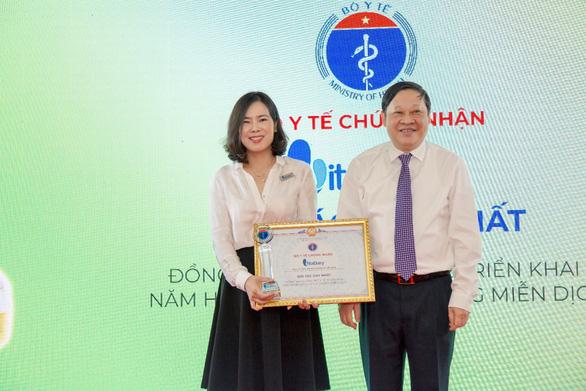 VitaDairy là đối tác duy nhất của Bộ Y tế trong năm hành động miễn dịch - Ảnh 1.