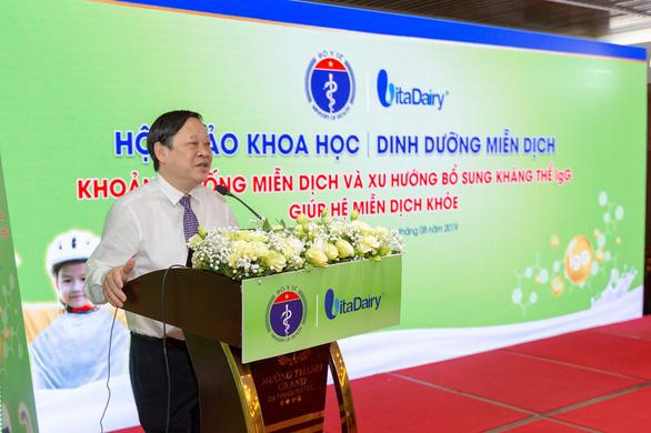 VitaDairy là đối tác duy nhất của Bộ Y tế trong năm hành động miễn dịch - Ảnh 2.