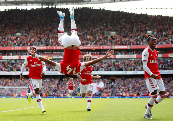 'Song sát' Aubameyang - Lacazette giúp Arsenal thắng trận thứ hai liên tiếp - Ảnh 3.