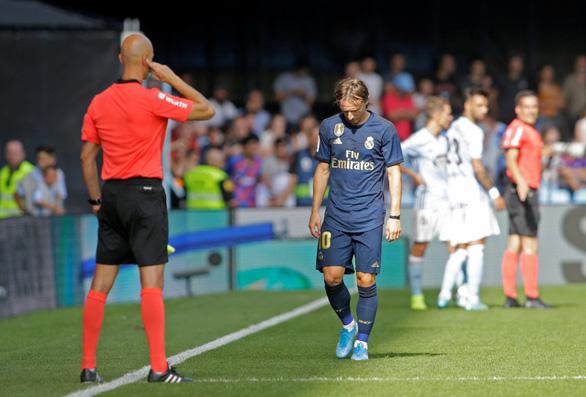Modric bị thẻ đỏ, Real Madrid vẫn thắng tưng bừng trên sân Celta Vigo - Ảnh 3.