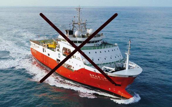 Bộ Ngoại giao: Tàu Hải Dương 8 của Trung Quốc lại xâm phạm thềm lục địa Việt Nam - Ảnh 1.