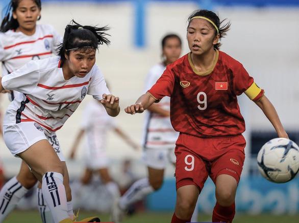 Thắng Indonesia 7-0, tuyển nữ Việt Nam tranh nhất bảng với Myanmar - Ảnh 2.