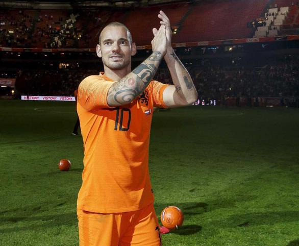 Sneijder - huyền thoại không danh hiệu - Ảnh 1.