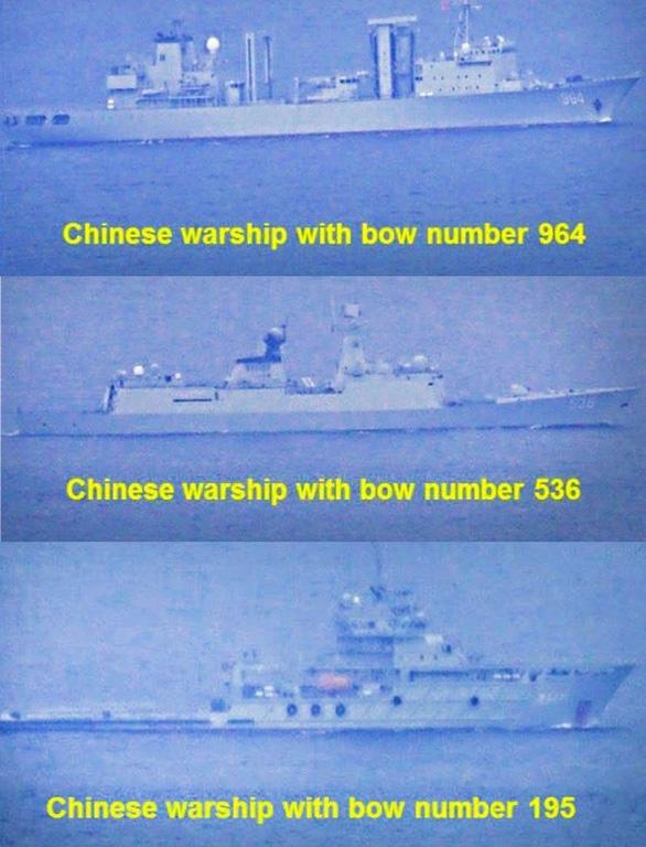 Tàu chiến Trung Quốc ra vào biển Philippines như ao nhà - Ảnh 1.