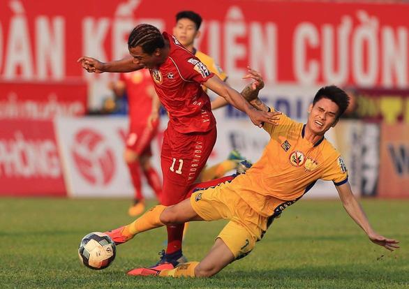 Sân Thanh Hóa: Chủ nhà đại bại trước Hải Phòng - Ảnh 1.