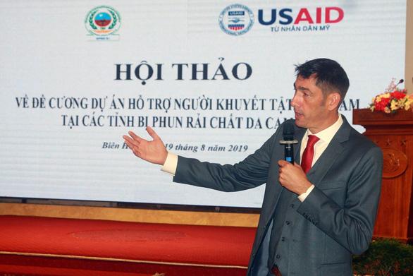 Hoa Kỳ tài trợ 50 triệu USD cho người khuyết tật tại 7 tỉnh Việt Nam - Ảnh 1.
