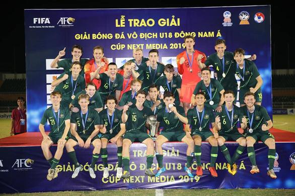 Úc lần thứ 5 đăng quang Giải U18 Đông Nam Á - Ảnh 1.
