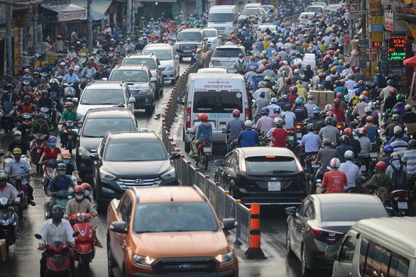 Gần 2.900 tỉ đồng xóa điểm đen kẹt xe đường Trường Chinh - Ảnh 2.