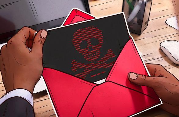 Tấn công mạng núp bóng email công ty uy tín - Ảnh 1.