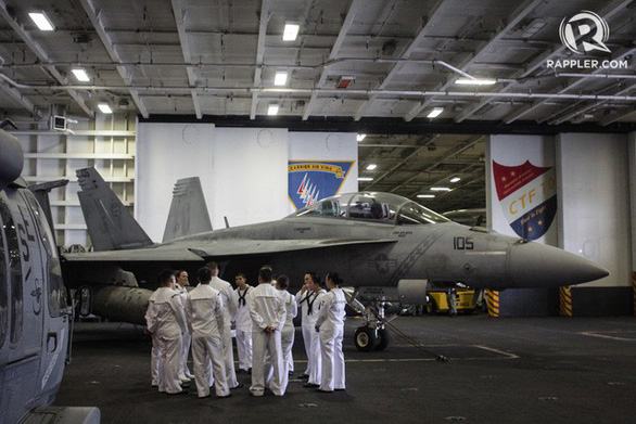 Mỹ cam kết duy trì hoạt động tuần tra ở Biển Đông - Ảnh 1.