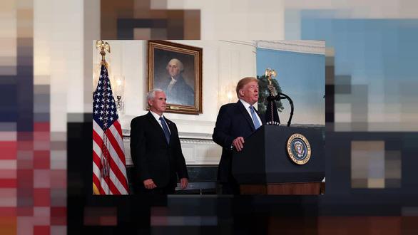 Ông Trump tiếp tục chọn ông Pence cùng tranh cử - Ảnh 1.