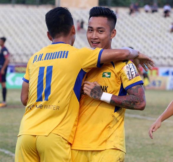 Sông Lam Nghệ An chấm dứt mạch 5 trận không thắng - Ảnh 1.