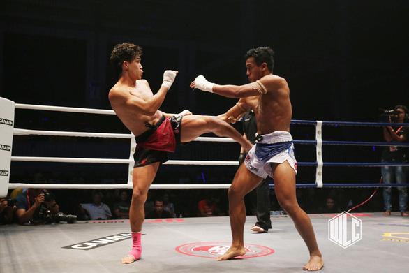 Thua giải Muay thế giới, võ sĩ Nguyễn Trần Duy Nhất thắng ở giải chuyên nghiệp - Ảnh 3.