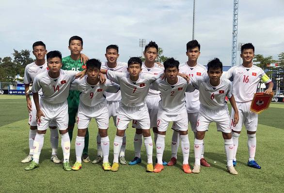 Thắng đậm U15 Myanmar, U15 Việt Nam chờ quyết đấu Timor Leste - Ảnh 1.