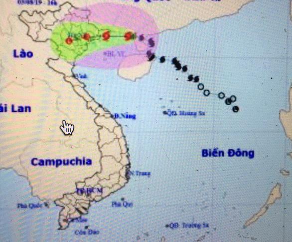 Bão số 3 cách Quảng Ninh - Hải Phòng khoảng 180 cây số - Ảnh 1.