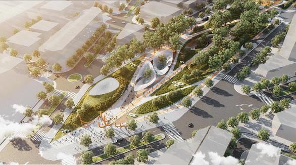 Tái hiện một phần hồn đô thị Sài Gòn ở công viên 23 Tháng 9 - Ảnh 1.