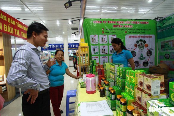 Hội chợ ở Đà Nẵng quy tụ nhiều doanh nghiệp quốc tế - Ảnh 4.