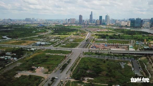 603 tỉ đồng xây mới 6 tuyến đường ở khu đô thị mới Thủ Thiêm - Ảnh 1.