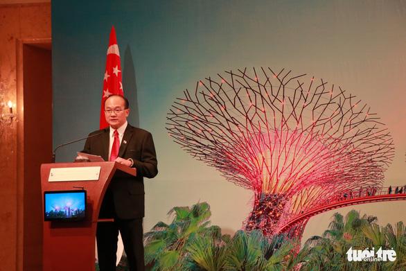 Singapore kêu gọi doanh nghiệp Việt đầu tư vào điện mặt trời nổi - Ảnh 1.