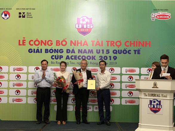 Bà Rịa - Vũng Tàu tổ chức giải U15 quốc tế có Nga, Hàn Quốc và Myanmar tham dự - Ảnh 1.