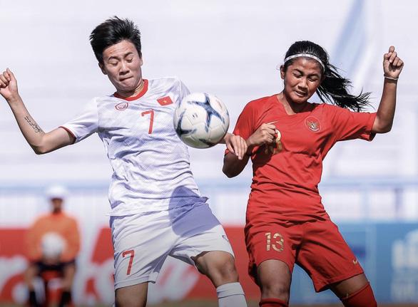 Hạ Myanmar 4-0, tuyển nữ VN vào bán kết Đông Nam Á với ngôi nhất bảng - Ảnh 1.