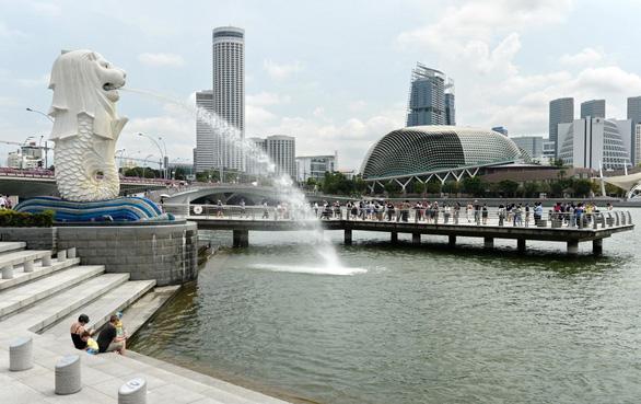 Singapore xây hệ thống đường nước thải ngầm siêu tốc - Ảnh 1.