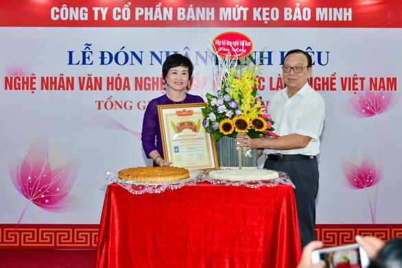 Tổng giám đốc công ty Bánh kẹo Bảo Minh nhận danh hiệu Nghệ nhân - Ảnh 1.