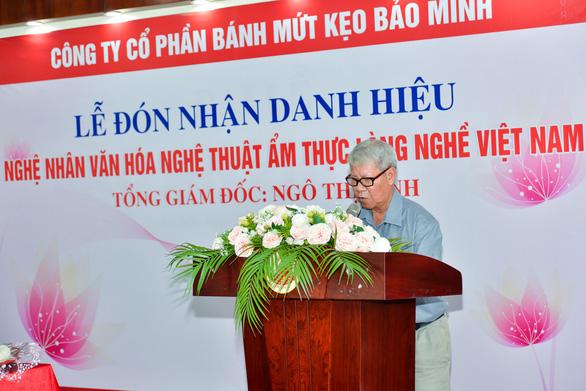 Tổng giám đốc công ty Bánh kẹo Bảo Minh nhận danh hiệu Nghệ nhân - Ảnh 2.
