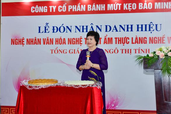 Tổng giám đốc công ty Bánh kẹo Bảo Minh nhận danh hiệu Nghệ nhân - Ảnh 3.