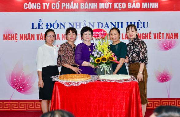 Tổng giám đốc công ty Bánh kẹo Bảo Minh nhận danh hiệu Nghệ nhân - Ảnh 4.