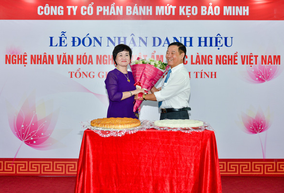 Tổng giám đốc công ty Bánh kẹo Bảo Minh nhận danh hiệu Nghệ nhân - Ảnh 5.