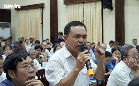 Dân Chí Linh phản đối điều chỉnh quy hoạch đất công viên thành tái định cư - Ảnh 2.