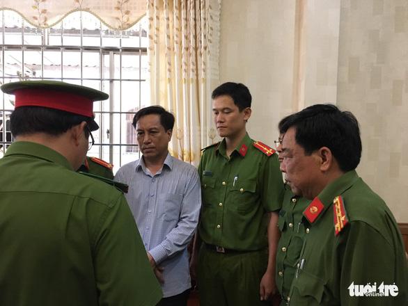 Bắt nguyên chủ tịch và phó chủ tịch UBND thành phố Trà Vinh - Ảnh 1.