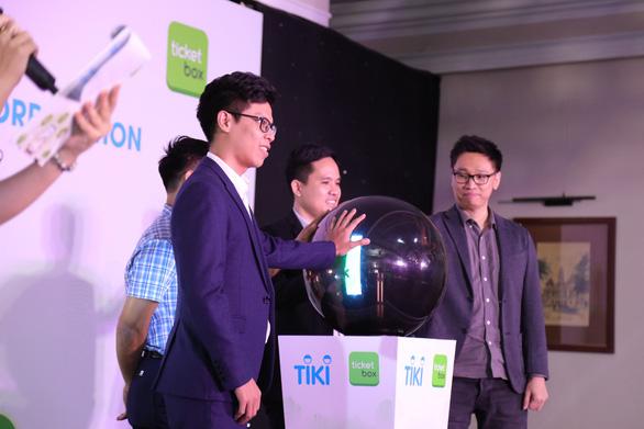 Thấy gì từ thương vụ Tiki mua lại startup nội Ticketbox? - Ảnh 1.