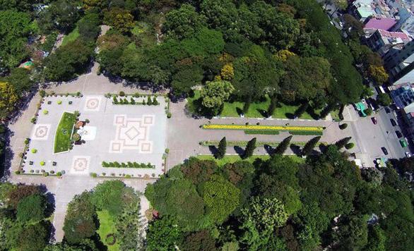Chấm dứt hợp đồng BOT bãi đậu xe ngầm công viên Lê Văn Tám - Ảnh 1.
