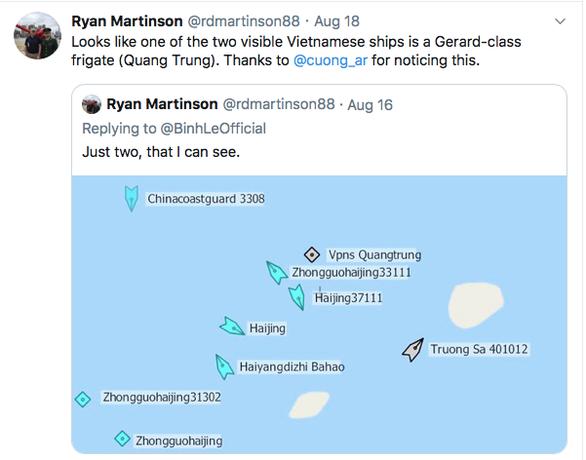 Bác bỏ phát ngôn của Trung Quốc nói tàu Hải Dương 8 hoạt động trong vùng biển nước này - Ảnh 1.