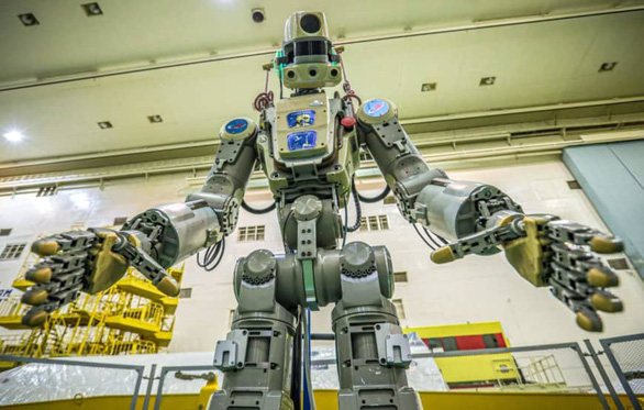 Robot Nga lái tàu vũ trụ lên ISS - Ảnh 1.