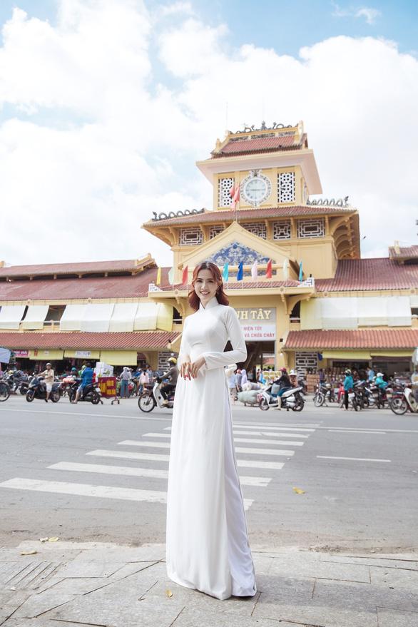 Hoa hậu Phan Thị Mơ: Mình nổi tiếng thì phải góp sức quảng bá du lịch nhiều hơn - Ảnh 3.