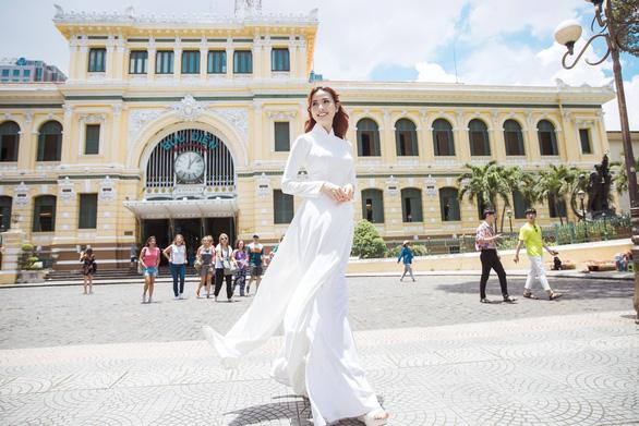 Hoa hậu Phan Thị Mơ: Mình nổi tiếng thì phải góp sức quảng bá du lịch nhiều hơn - Ảnh 1.