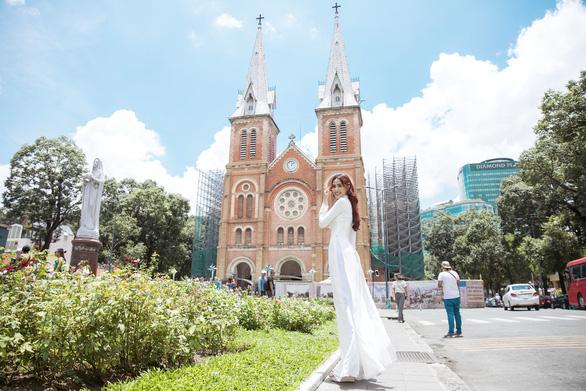Hoa hậu Phan Thị Mơ: Mình nổi tiếng thì phải góp sức quảng bá du lịch nhiều hơn - Ảnh 9.