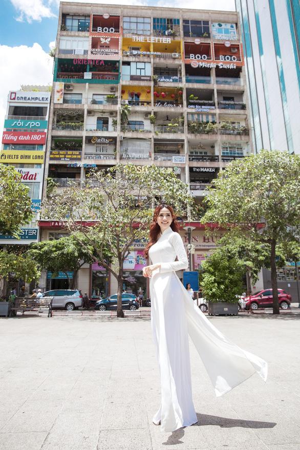 Hoa hậu Phan Thị Mơ: Mình nổi tiếng thì phải góp sức quảng bá du lịch nhiều hơn - Ảnh 5.