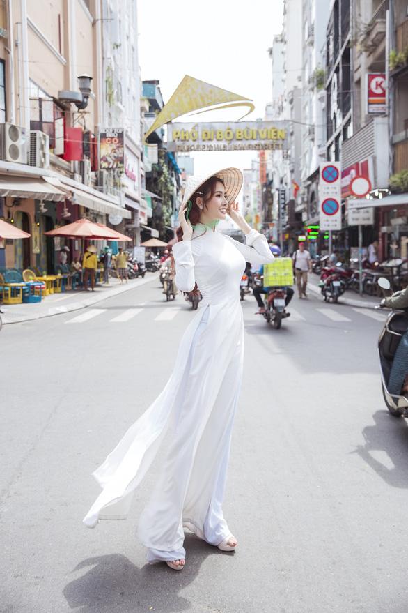 Hoa hậu Phan Thị Mơ: Mình nổi tiếng thì phải góp sức quảng bá du lịch nhiều hơn - Ảnh 12.
