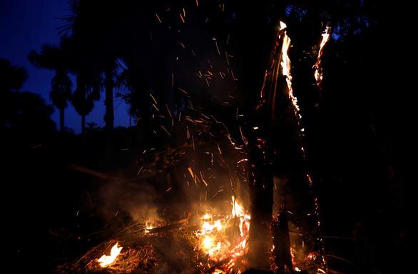 Tổng thống Brazil chỉ trích quốc tế xen vào việc nội bộ trong vụ cháy rừng Amazon - Ảnh 1.