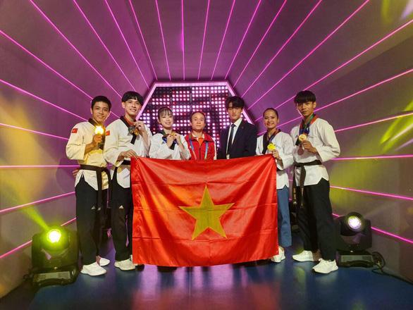 Quyền taekwondo VN giành 4 HCV tại World Cup 2019 - Ảnh 2.