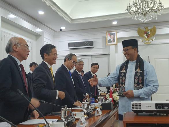 Lãnh đạo TP.HCM đề xuất Indonesia cùng tổ chức diễn đàn phát triển đô thị bền vững - Ảnh 2.