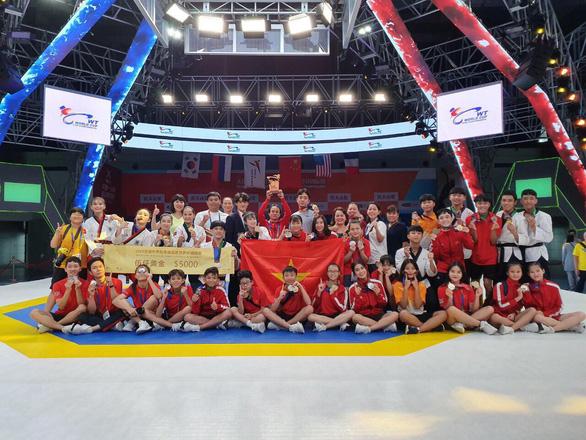 Quyền taekwondo VN giành 4 HCV tại World Cup 2019 - Ảnh 1.