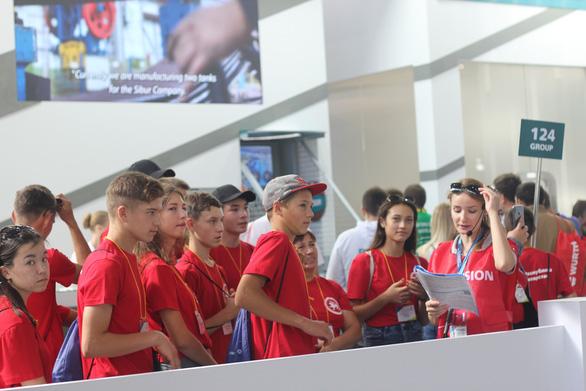 Rộn ràng ngày thi tay nghề ở WorldSkills Kazan 2019 - Ảnh 6.