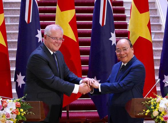 Việt Nam, Úc quan ngại sâu sắc tình hình Biển Đông, hợp tác sâu về quốc phòng - Ảnh 1.